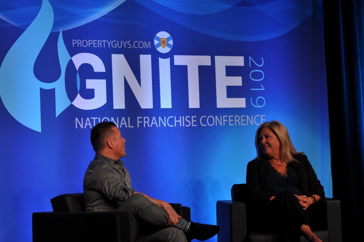 Ken LeBlanc and Shannon Gavin at IGNITE 2019
